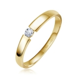 Damenring - LB127 - 585/- Gold, Brillant