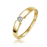 Damenring - LB129 - 585/- Gold, Brillant