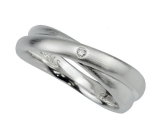 Damenring - Fritsch Sterling 00001 - 925/- Silber, Diamant