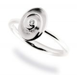 Damenring - Fritsch Sterling 00429 - 925/- Silber, Diamant