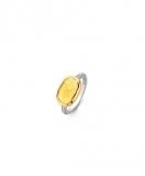 Damenring - Ti Sento 12139TY/56 - 925/- Silber vergoldet Bicolor, Kristall