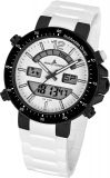 Herrenuhr - Jacques Lemans 1-1712P - Quarz, Stahl IP Black