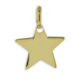 Anhänger - Kesef 2263 - 333/- Gold, Stern