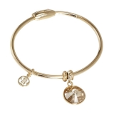 Bangle - BOCCADAMO XBR274DT - Bronze vergoldet, Swarovski