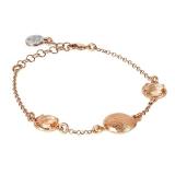 Armband - BOCCADAMO XBR805RS - Bronze Rosé vergoldet, Kristall