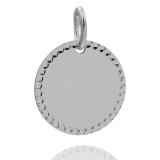 Anhänger - Kesef 6513 - 925/- Silber, Gravurplatte