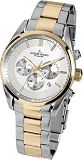 Herrenuhr - Jacques Lemans 42-6.1H - Chronograph, Stahl IP Gold